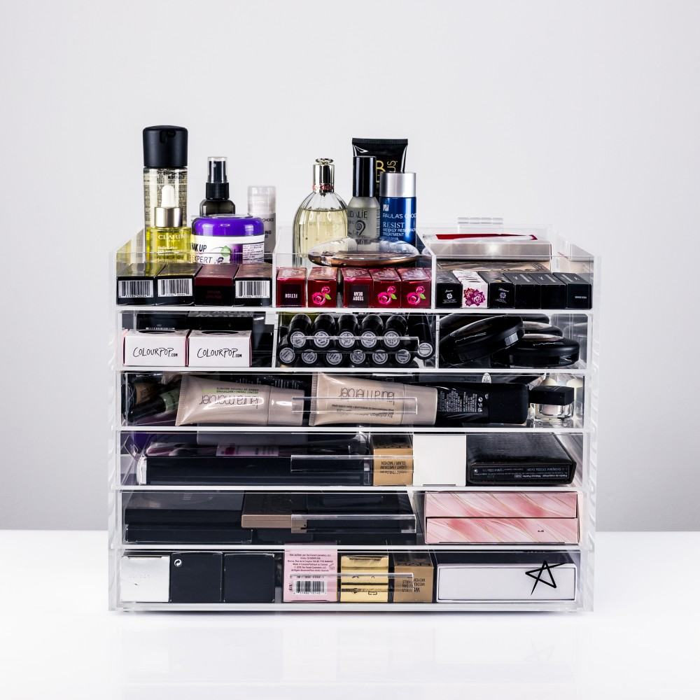 luxy boxe de rangement makeup. Black Bedroom Furniture Sets. Home Design Ideas