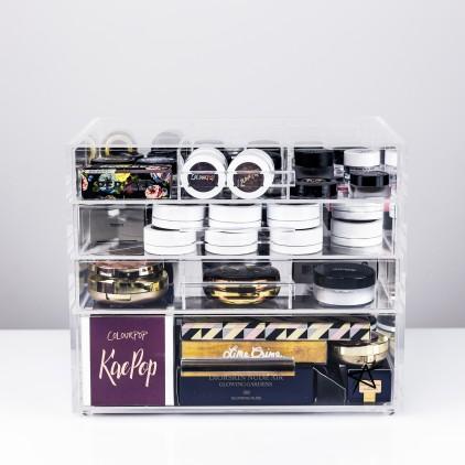 Usaddicted rangement maquillage metrimex sprl - Rangement palette maquillage ...