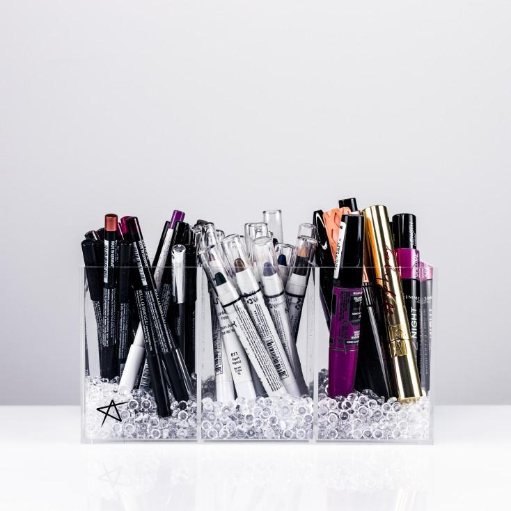 Rangement Crayons à levres/yeux