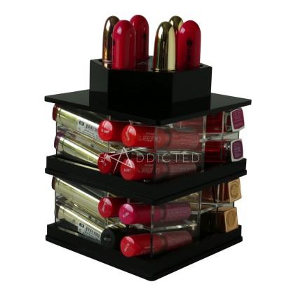 tour rouge levres usaddicted rangement maquillage acc ssoires beaut. Black Bedroom Furniture Sets. Home Design Ideas