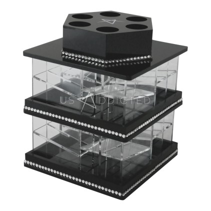 MINI - Spinning Lipstick Tower Black