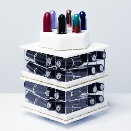 MINI - Spinning Lipstick Tower White