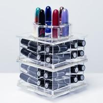 MINI - Tour de rangement Transparente pour rouge à lèvres