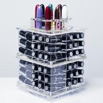 Tour de rangement pour 81 rouges levres - Tour de rangement maquillage ...