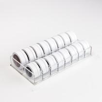 Aufbewahrung für kleine Puderdosen