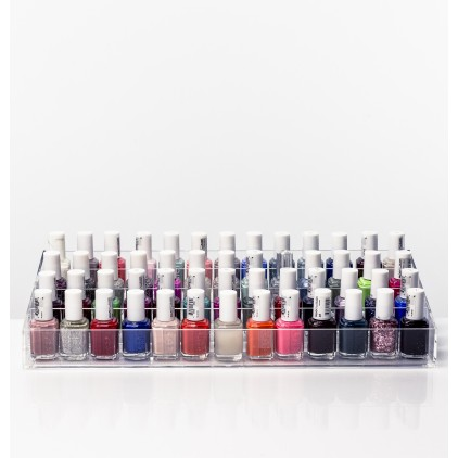 Storage solution/display stand for nail polish