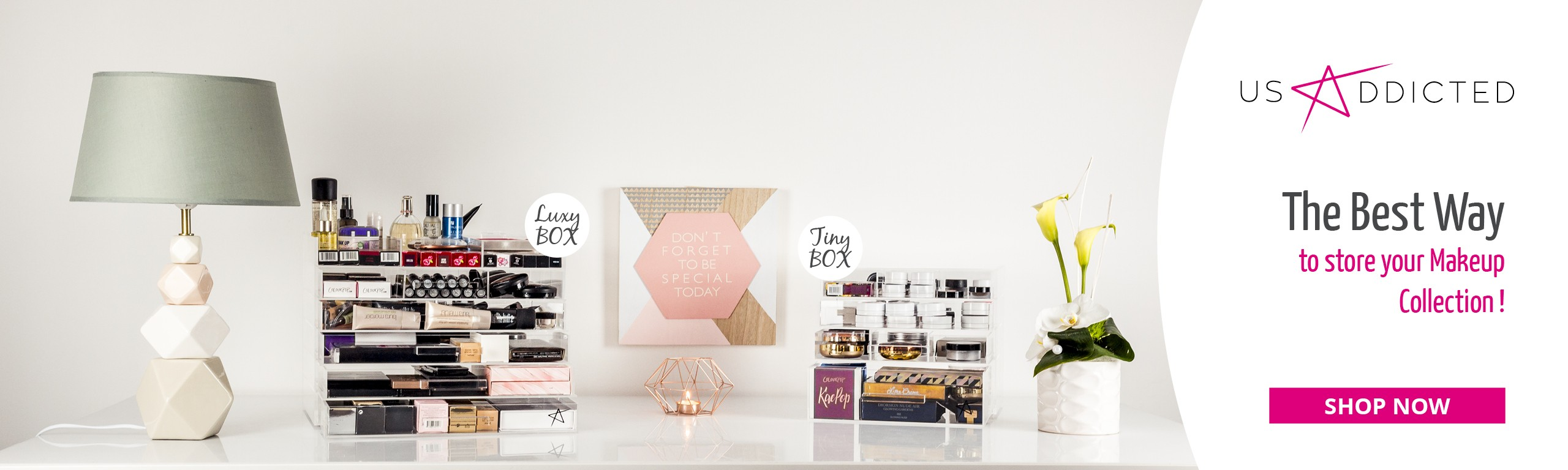 The best Way to store your makeup collection